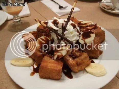 Aoyama Cafe: Choco Banana French Toast
