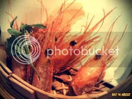 Guu with Garlic: Deep-fried Prawn Heads