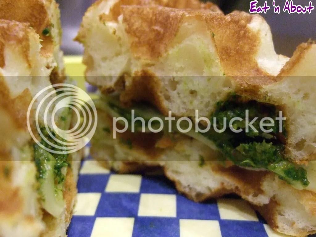Miura Waffle Milk Bar: Veggie Sando