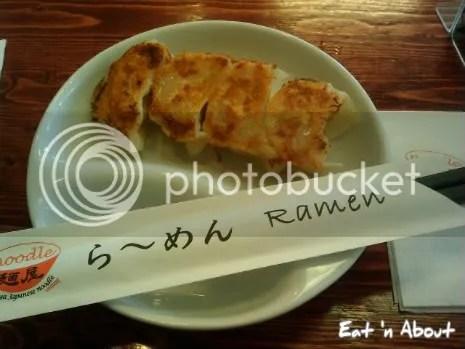 Menya Japanese Noodle: Gyoza