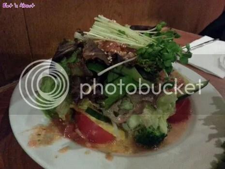 Insadong Coquitlam: Beef Salad