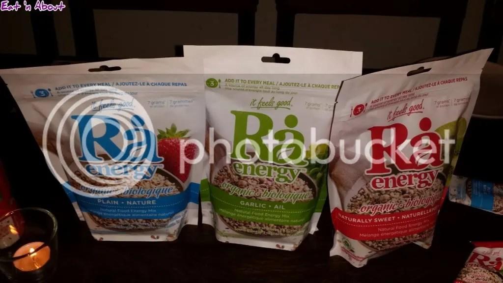 Nuba and Ra Energy: Ra Energy Bags
