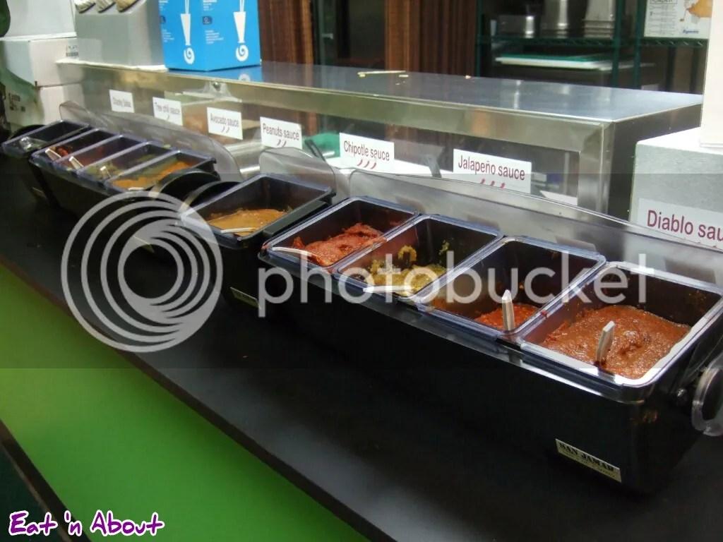Sal y Limon: Hotsauce selection