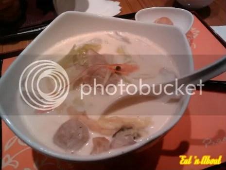 Pearl Castle: Milk Seafood Udon Noodles