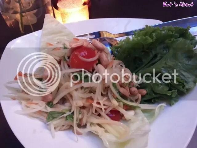 U & I Thai: Green Papaya Salad (Som Tum)