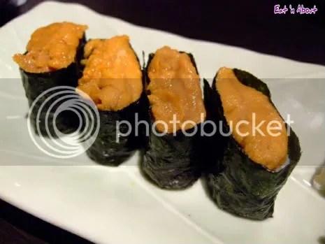 Tsuki no Shizuku, Shin-Osaka: Sea Urchin Sushi