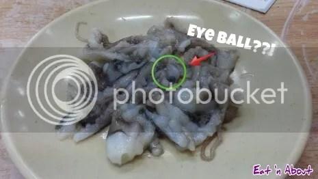 sanaakji live octopus at Noryangjin fish market, Seoul, Korea