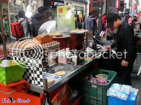 Myeongdong, Seoul Street Food