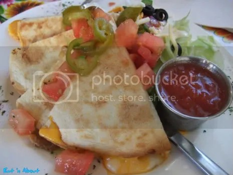 Carlos Cantina: Chicken Quesadilla with Mixed Cheese