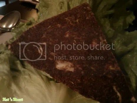 Gorilla Food: veggie-flaxseed bun