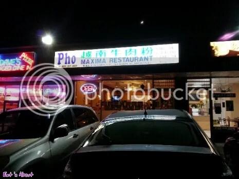 Pho Maxima Restaurant exterior