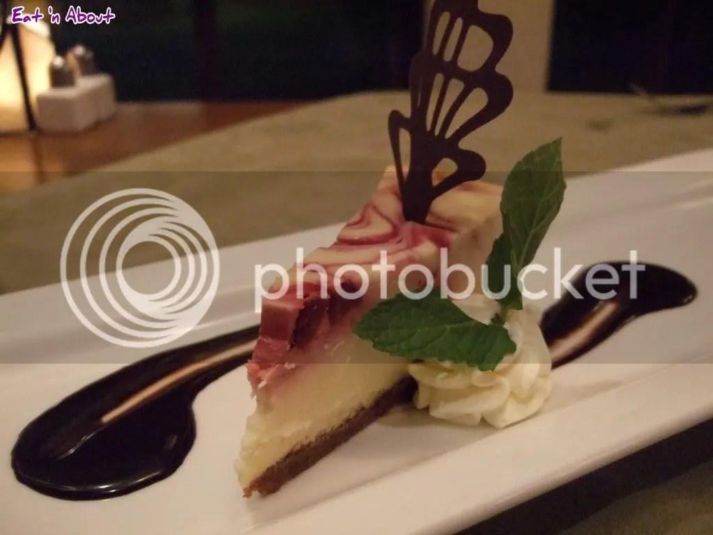 Locals: Sour Cherry & Goat Cheesecake