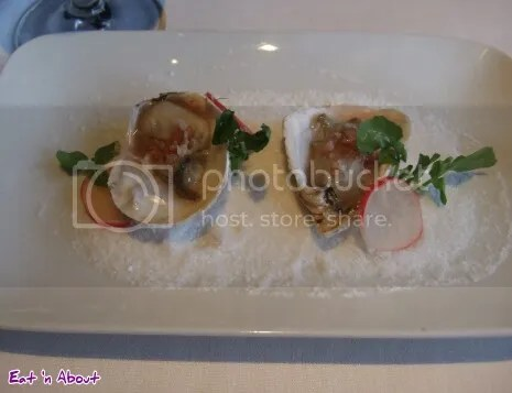 Raincity Grill: West Coast Oyster with raspberry & shallot mignonette