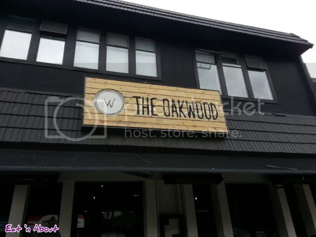 The Oakwood Canadian Bistro exterior