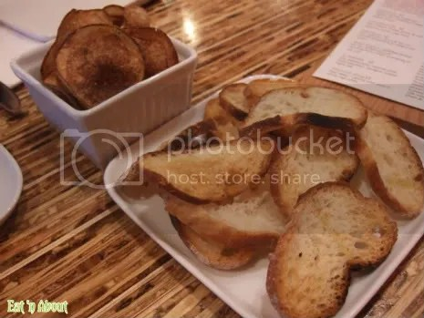 The Refinery: Homemade rosemary potato chips