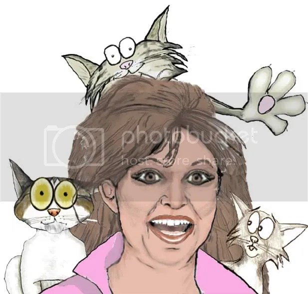 Cat Lady Pictures, Images and Photos