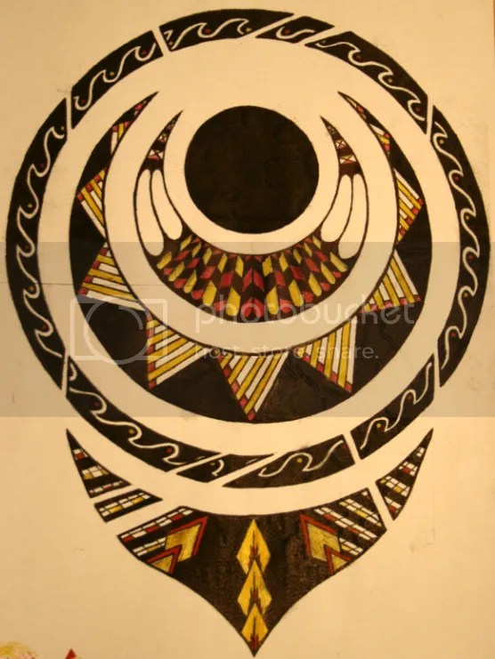 of samoan and polynesian designs) [image] This is a another 'tattoo'
