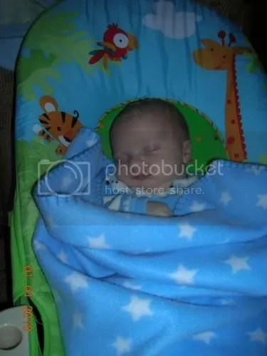 Safe for baby to sleep in bouncer  BabyCenter