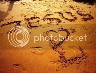 written in sand photo: jesus lobs u jesus-loves-you-written-in-the-sand.jpg