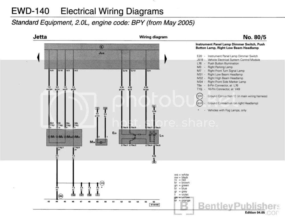 medium resolution of  for the rabbit gti and the jetta gli is identical at the front of the car same wiring colors same everything here s the diagram showing the lamps