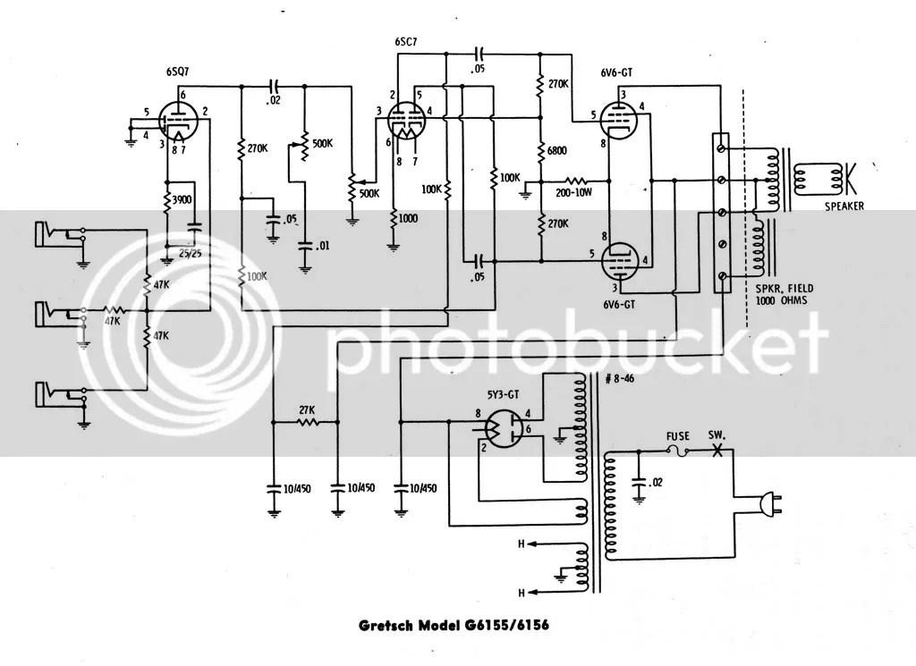 Gretsch Amp Schematic, Gretsch, Get Free Image About