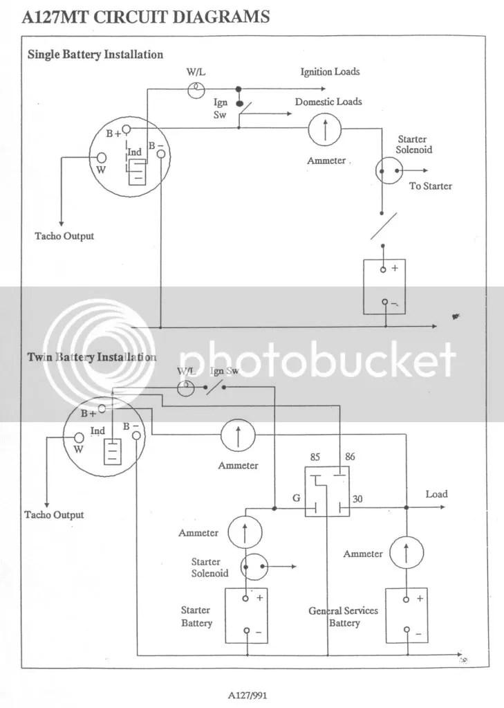 alternator wiring diagram lucas alternator wiring diagram quotes