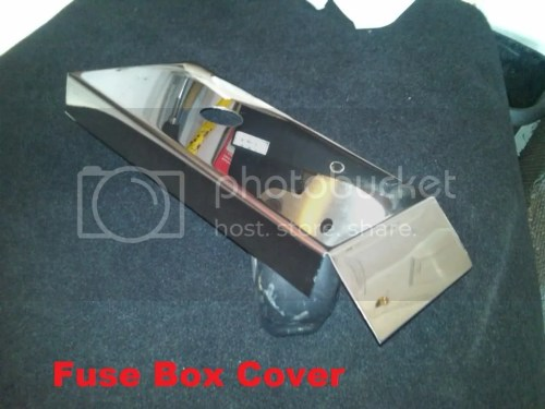 small resolution of corvette c5 polished stainless fuse box cover 1997 2004 chrome engine ls1 ls6