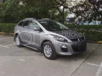 A Pair Silver Painted Decorative Roof Rack For Mazda Cx-7 ...