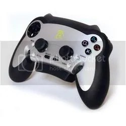 The front of this controller is fashioned from the hood of a 75 El Camino.  True story.