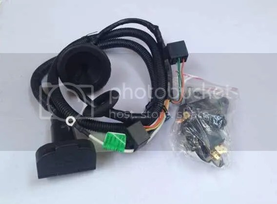 UNT236 TowBar Trailer Wiring Harness Loom FOR Toyota Prado