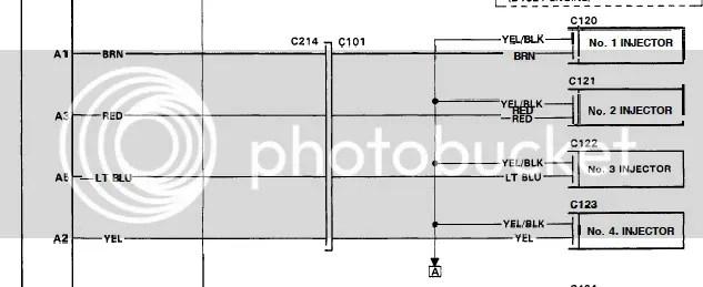Honda Civic Wiring Diagram 95 Civic Wont Start No Injector Pulse Honda Tech