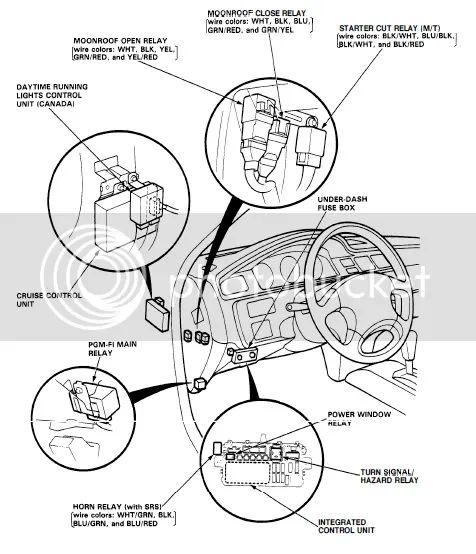 92 honda fuel filter location