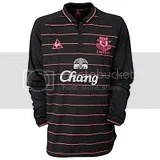 Everton FC le coq sportif 09/10 Away Kit