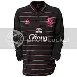 Everton FC le coq sportif 09/10 Away Kit