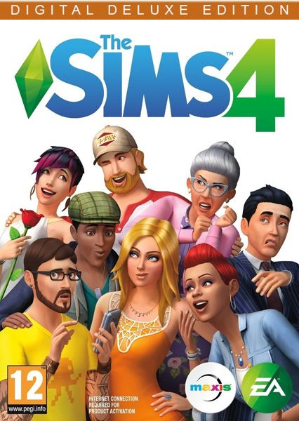 The SIMS 4 - Deluxe Edition (2014/RUS/ENG/MULTi17/Full/Repack)
