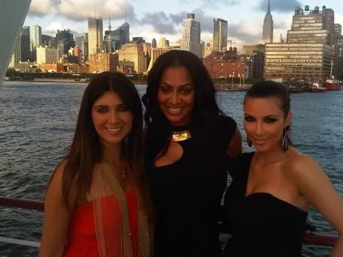 PICS LaLa Amp Carmelo Rock The Boat In NYC Before Wedding