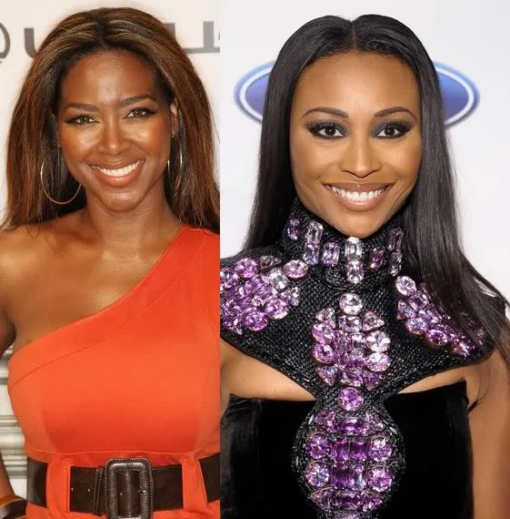 Kenya Moore Shows Her True Colors At The Bailey Agency 931 Wzak