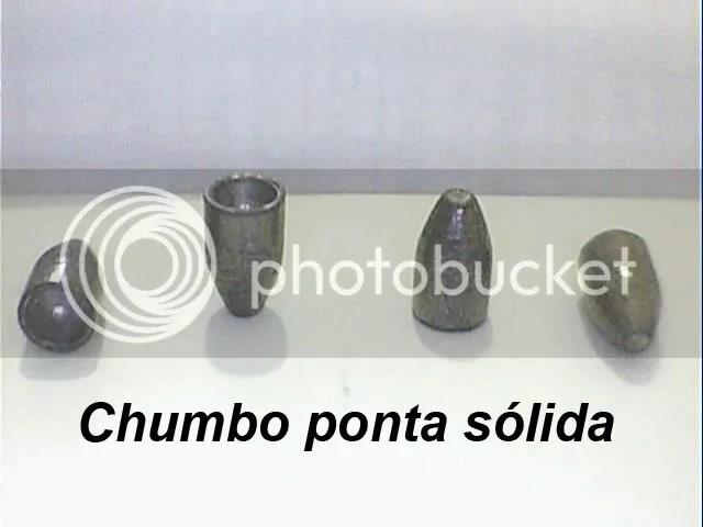 Chumbo Ponta Sólida