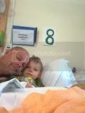 With Daddy in Alderhey June 2010