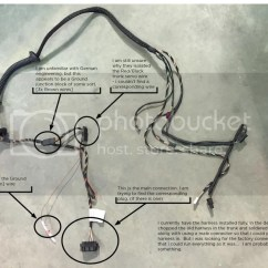 Bmw E46 Boot Wiring Diagram Cub Cadet Lt1045 Deck E39 Electrical Problems Traced To Trunk Lid Harness Wire
