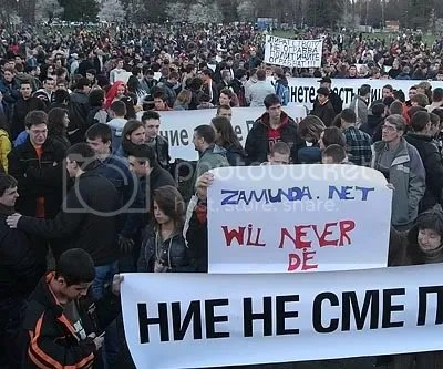 p2p demonstration in Sofia