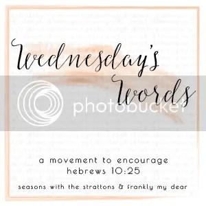 Wednesday's Words