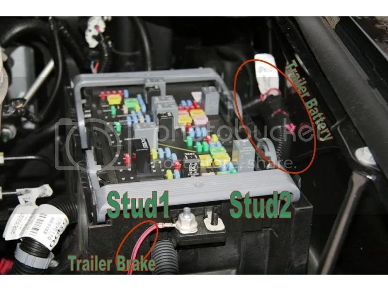 2011 Chevy Colorado Fuse Box No Power To My Trailer Plug Trailers Hitches Amp Towing