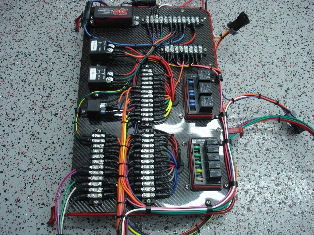 Race Car Dash Wiring - Wiring Diagram & Cable Management Rally Car Wiring Harness on