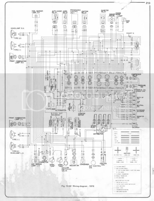 small resolution of 79 620 electrical gremlin help electrical ratsun forums 1978 datsun pickup wiring diagram 1981 nissan pickup wiring diagram