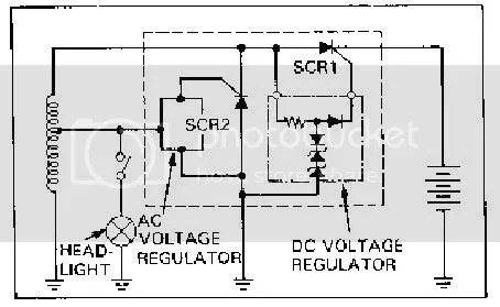 Re: Anyone use one of these voltage regulators? — Moped Army