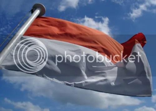 Dasar Bendera Pusaka Pesan dari Jepang