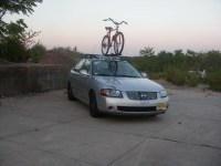 All B15 Models FS:Thule Roof Rack with big mouth bike