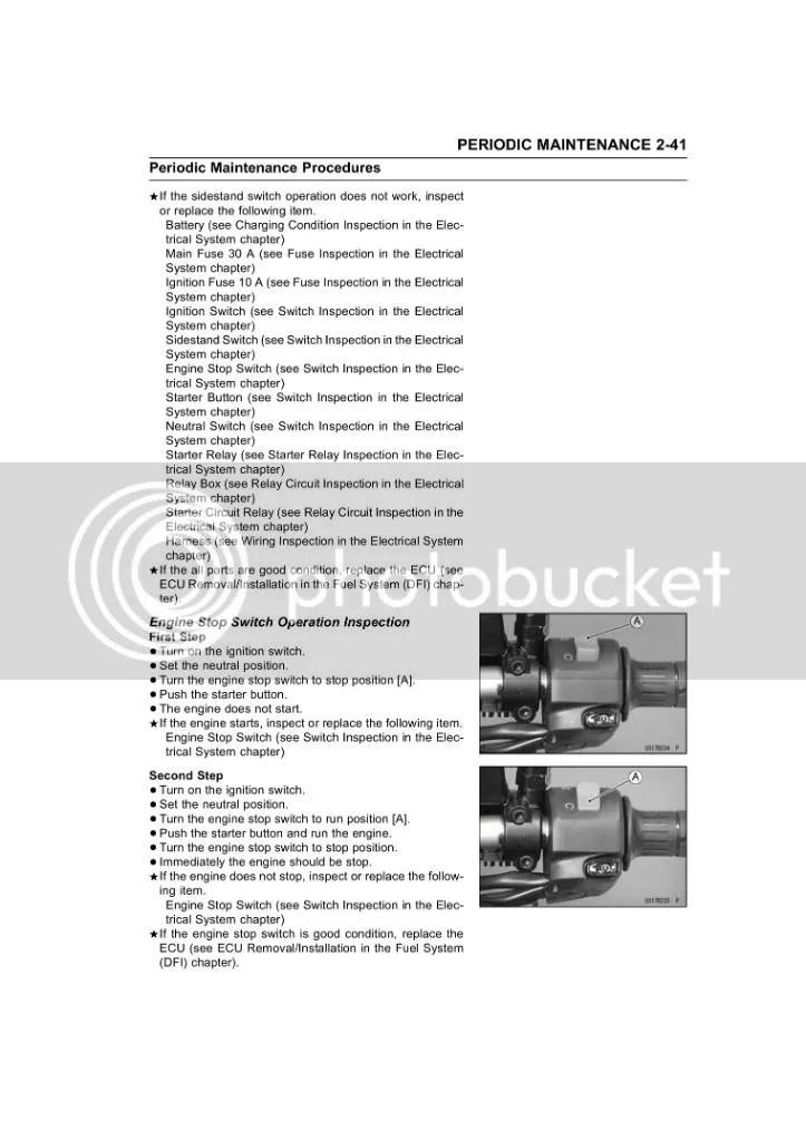 2012 Kawasaki Versys 650 Service Manual