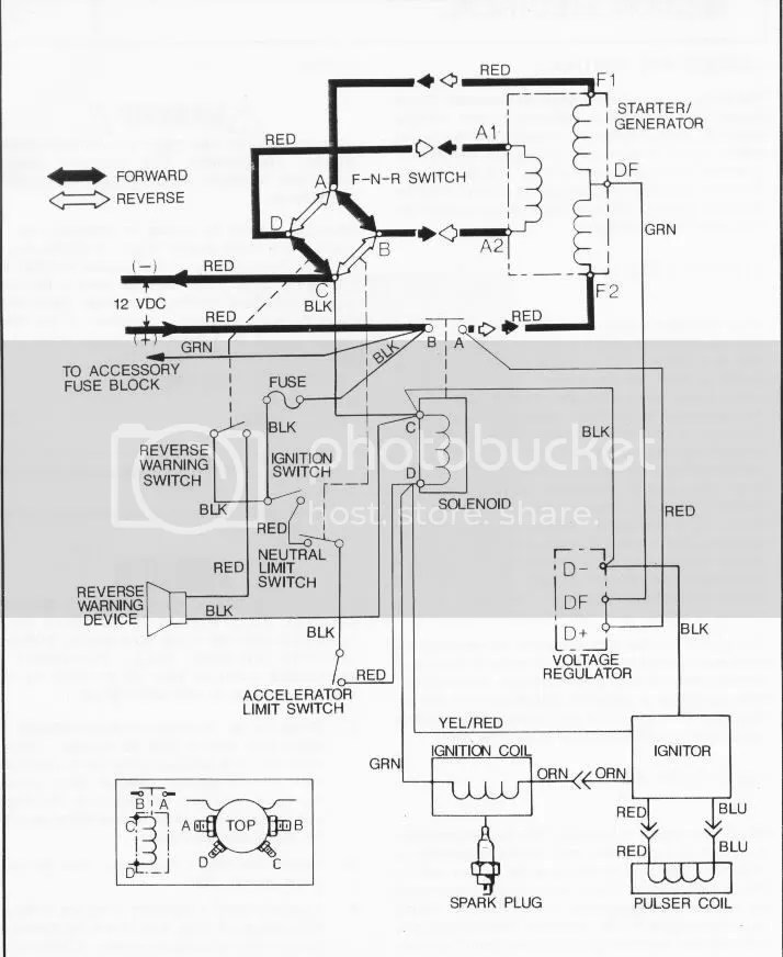 1985 Club Cart 36 Volt Wiring Diagrams Need Wiring Diagram For My 1987 Gx440 Gas Ez Go Marathon